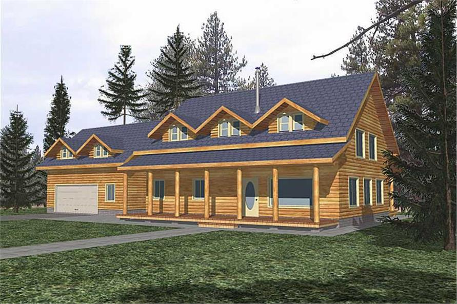 Main image for house plan # 9203