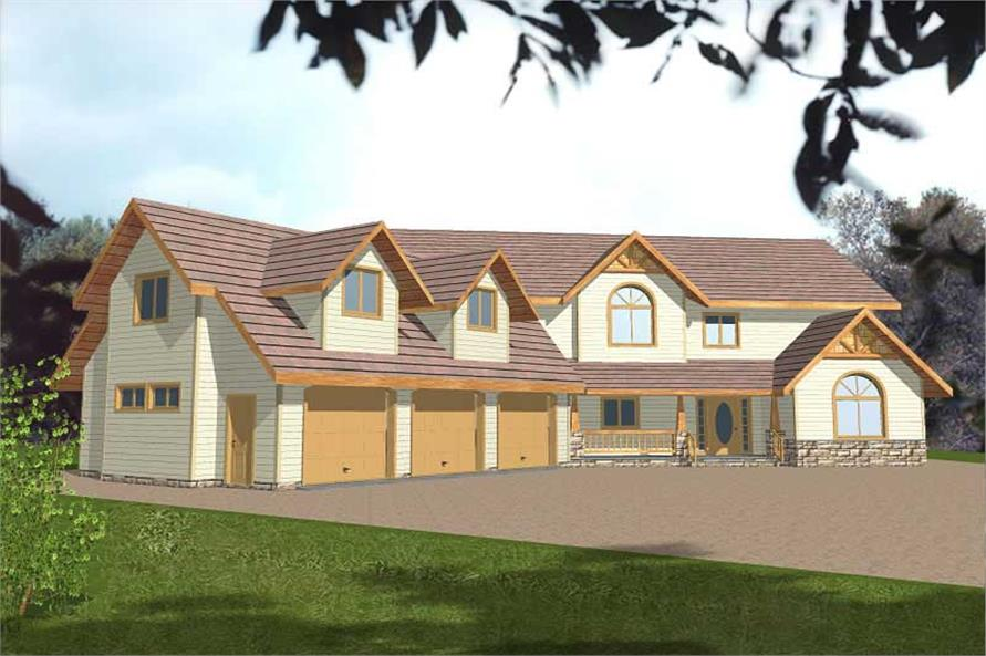 Main image for house plan # 8838