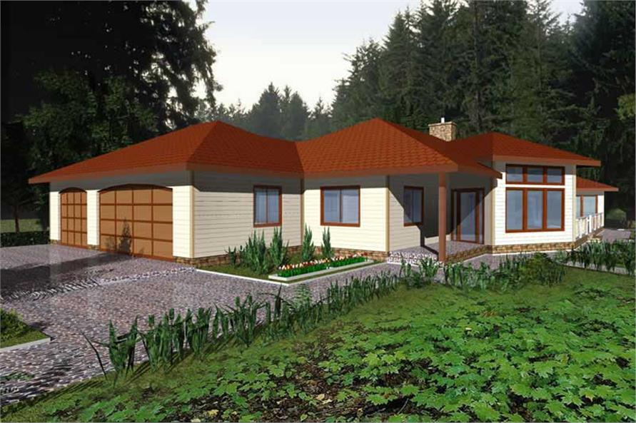Main image for house plan # 9968