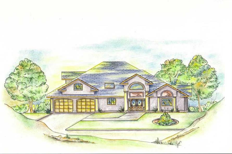 Main image for house plan # 8792