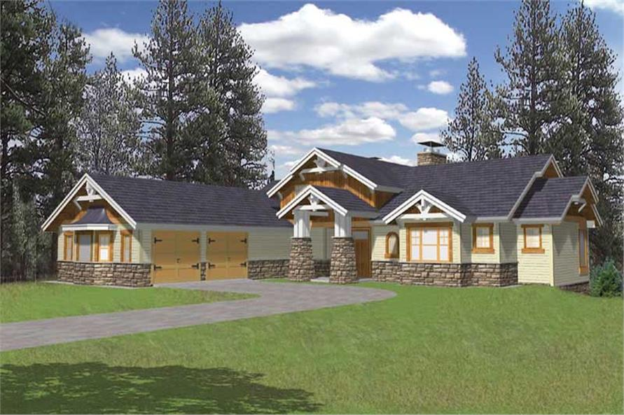 Main image for house plan # 9978