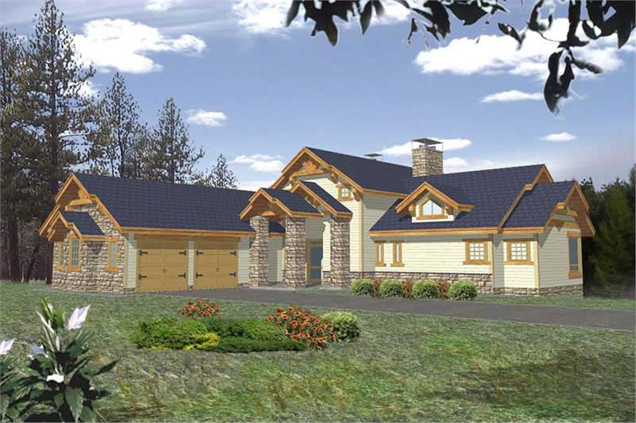 Main image for house plan # 9974