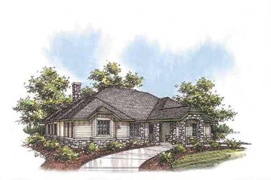 Main image for house plan # 9717