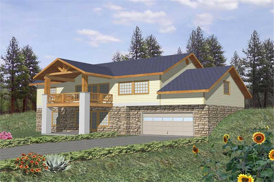 Main image for house plan # 9972