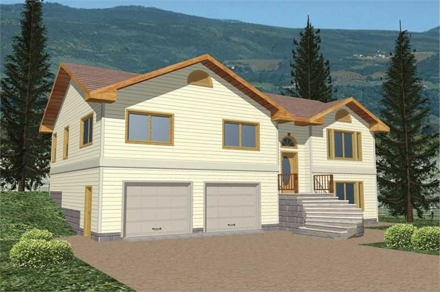 Main image for house plan # 8784