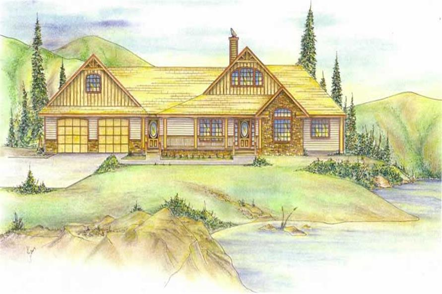 Main image for house plan # 8800