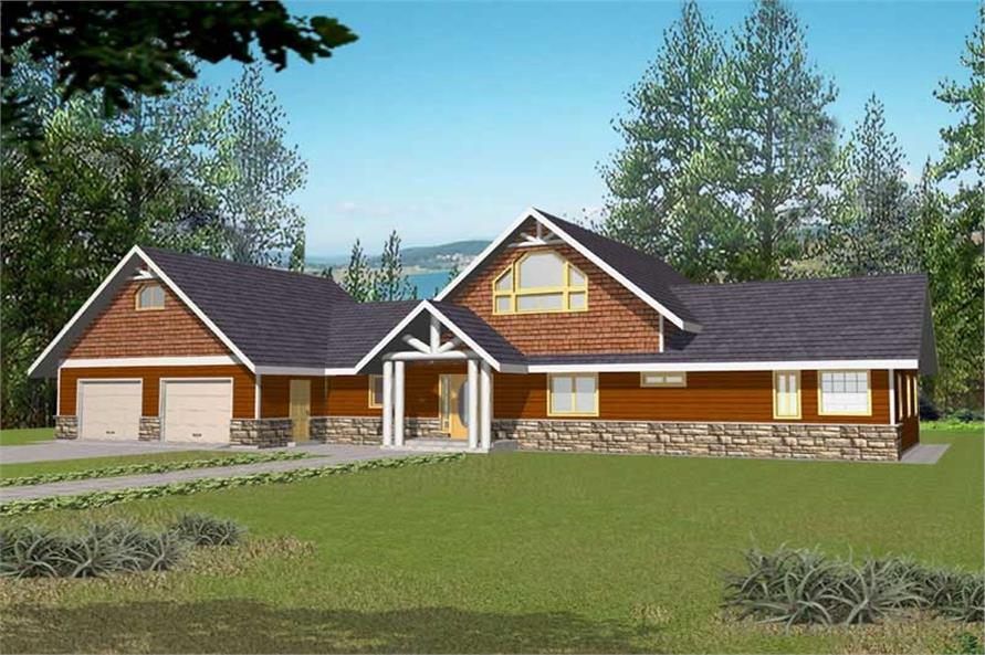 Main image for house plan # 15612