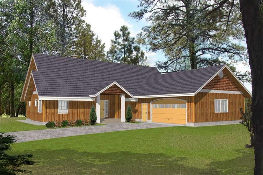 Main image for house plan # 15616