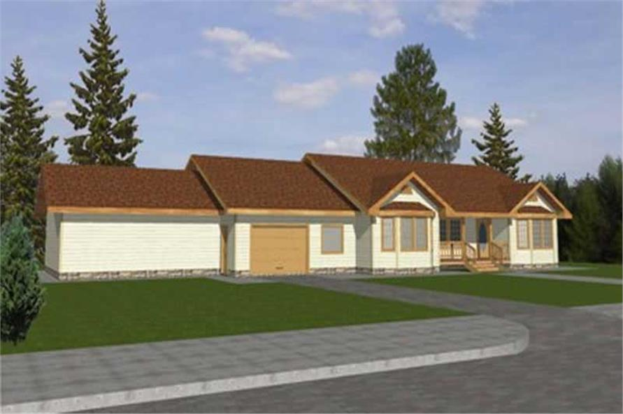 Main image for house plan # 8777
