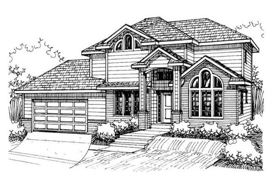 Main image for house plan # 8789