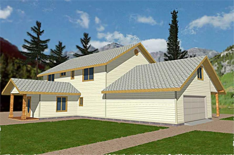Main image for house plan # 15631