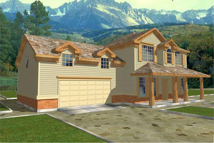 Main image for house plan # 8782