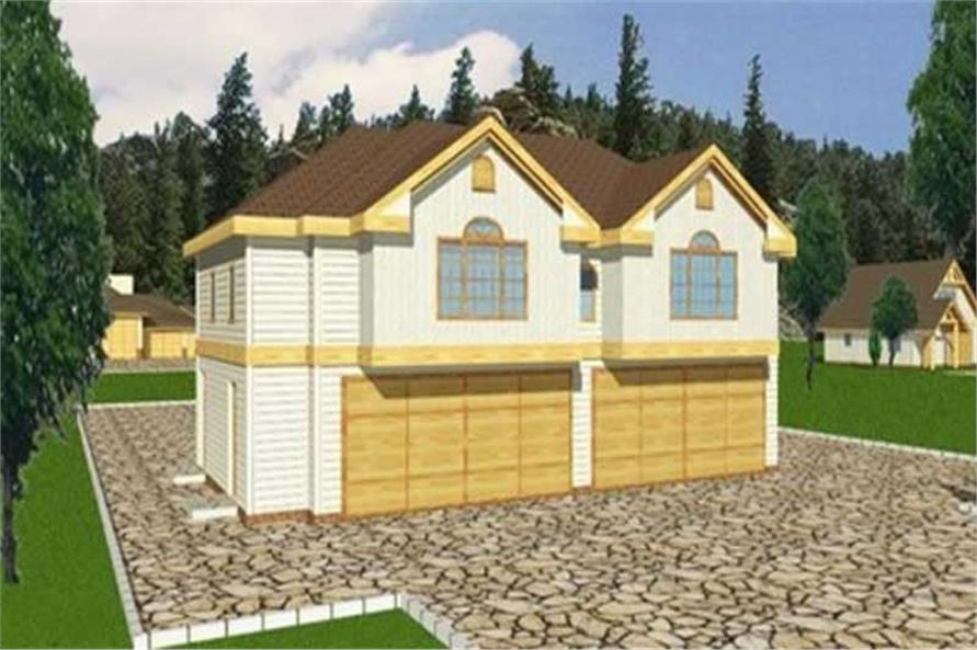 Main image for house plan # 9453