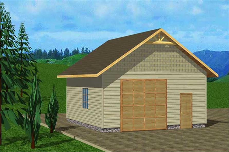 Main image for house plan # 9455