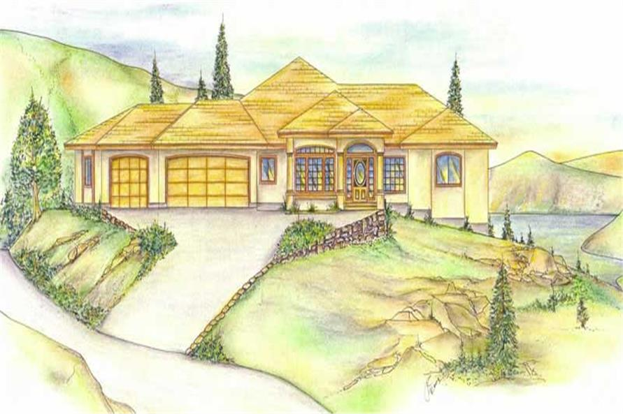Main image for house plan # 9741