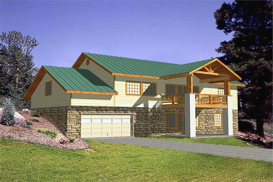 Main image for house plan # 9754