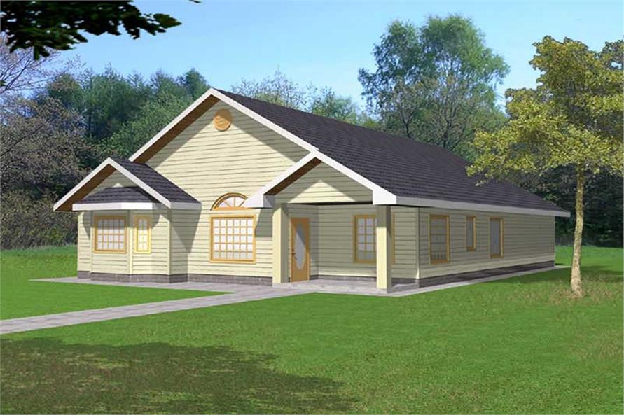 Main image for house plan # 15596