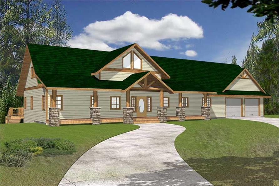 Main image for house plan # 15572