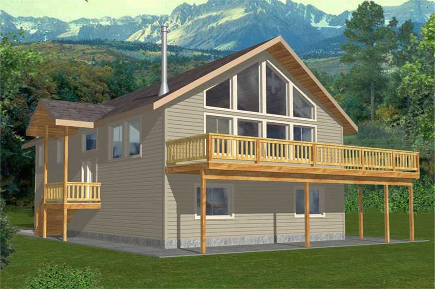 Main image for house plan # 15583