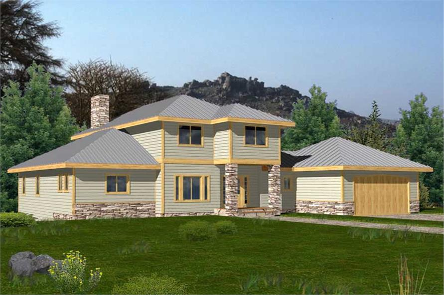 Main image for house plan # 15589