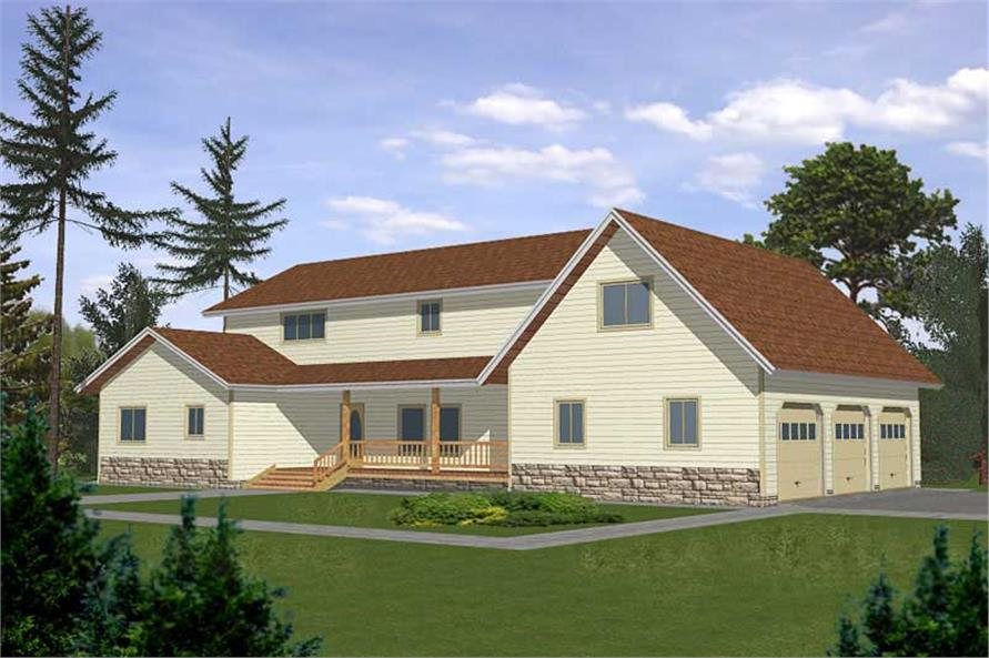 Main image for house plan # 8818