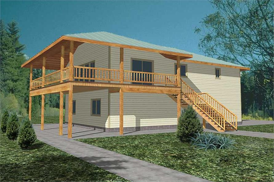 Main image for house plan # 8840