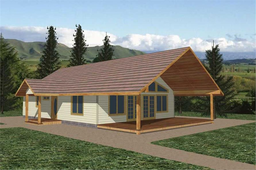 Main image for house plan # 8833
