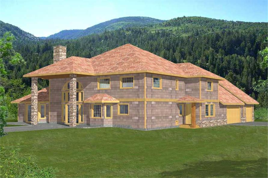 Main image for house plan # 9738