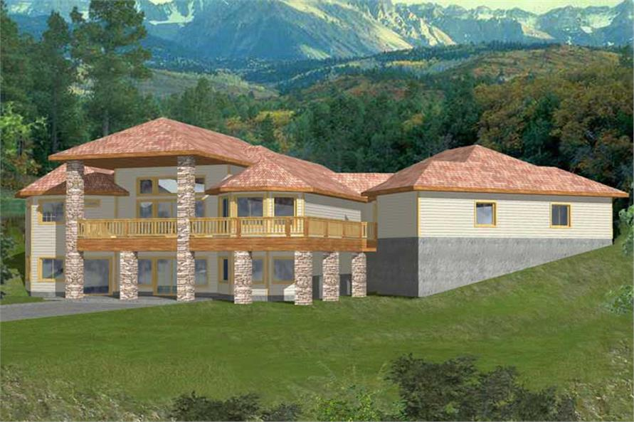 Main image for house plan # 9737