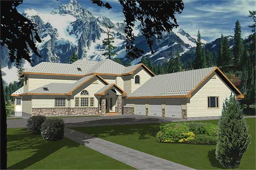 Main image for house plan # 8801