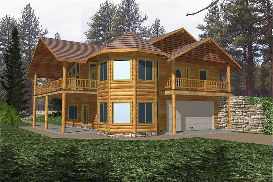 Main image for house plan # 8803