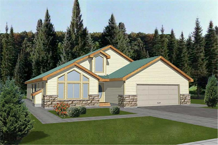 Main image for house plan # 8804