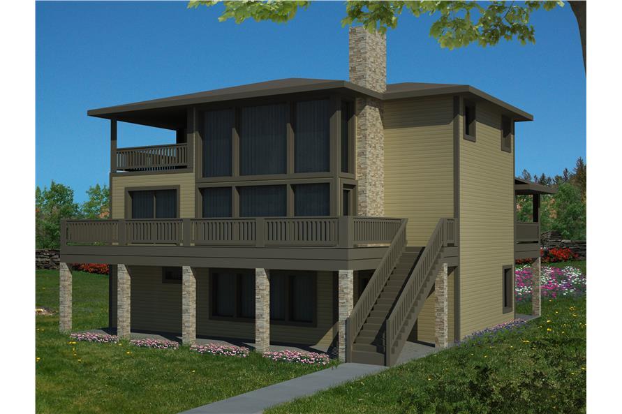 132-1530: Home Plan Rendering