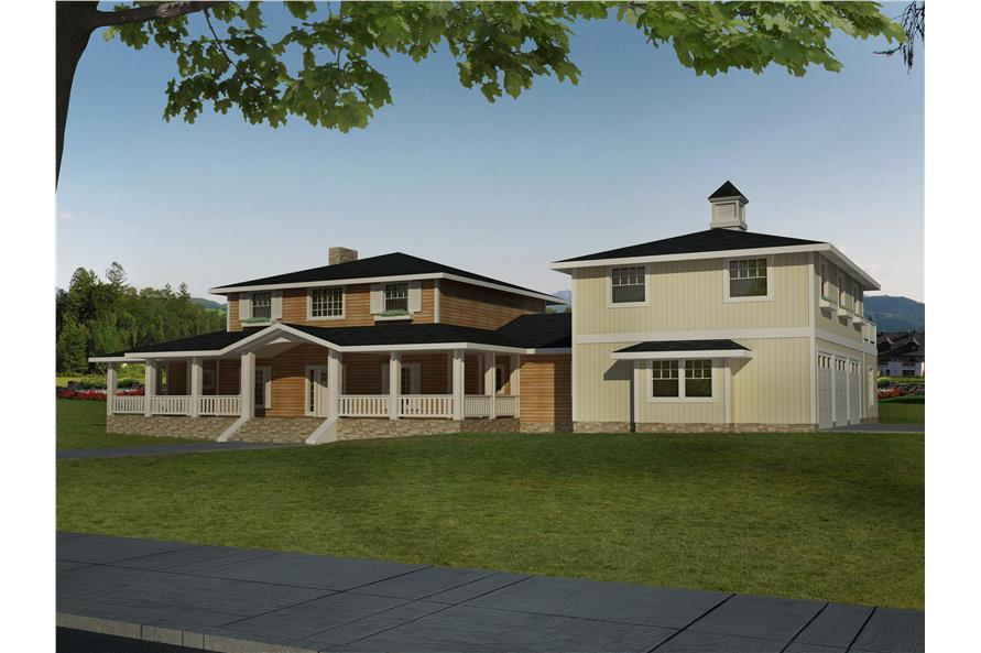 132-1532: Home Plan Rendering