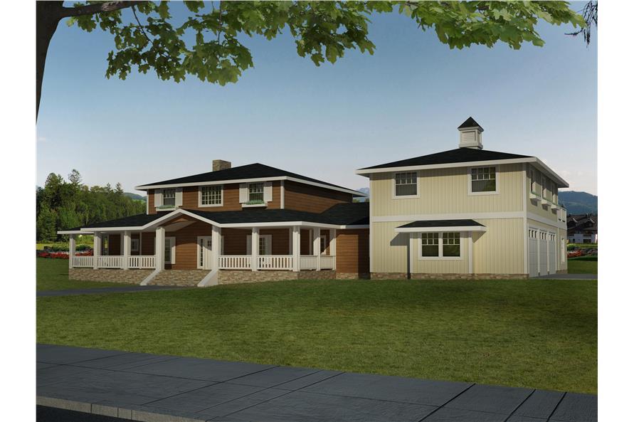 132-1548: Home Plan Rendering