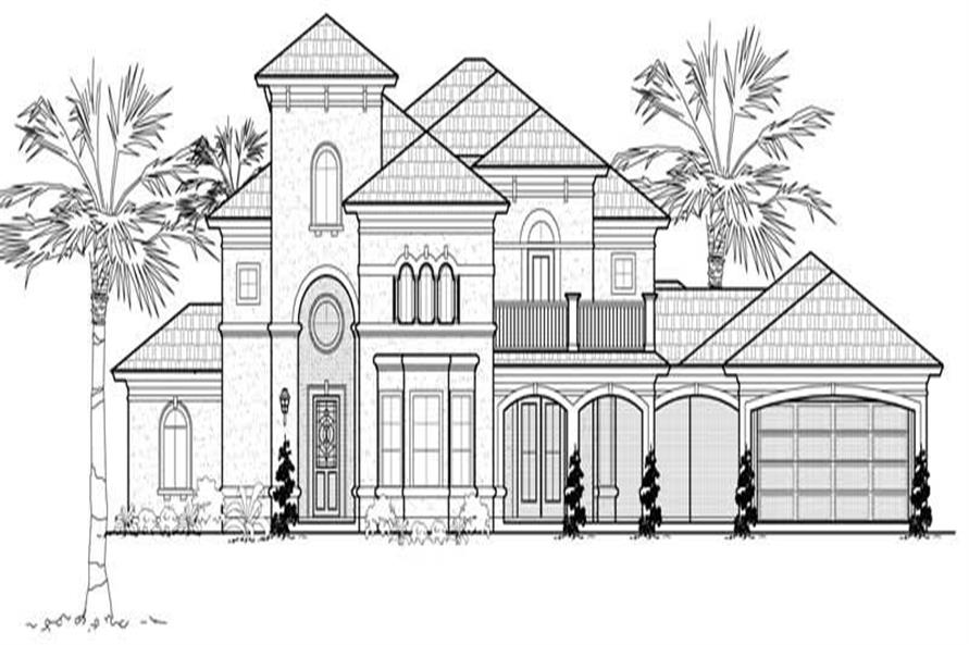 Main image for house plan # 19134