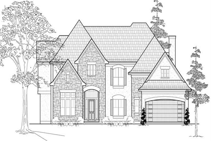 Main image for house plan # 19150