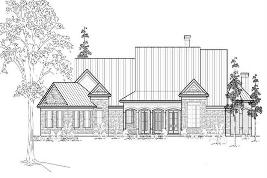 Main image for house plan # 19131