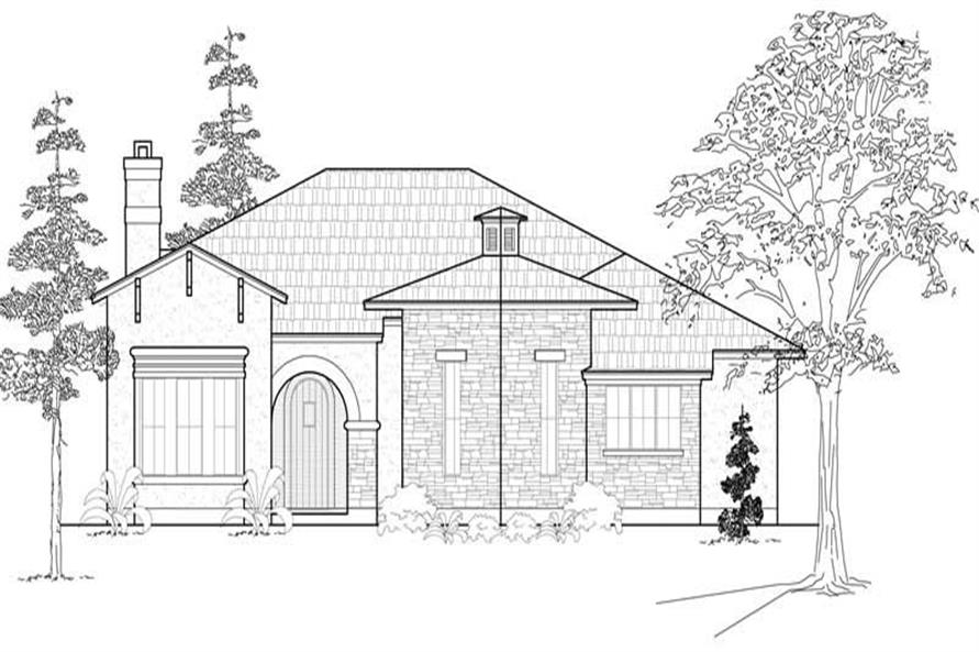 Main image for house plan # 18985