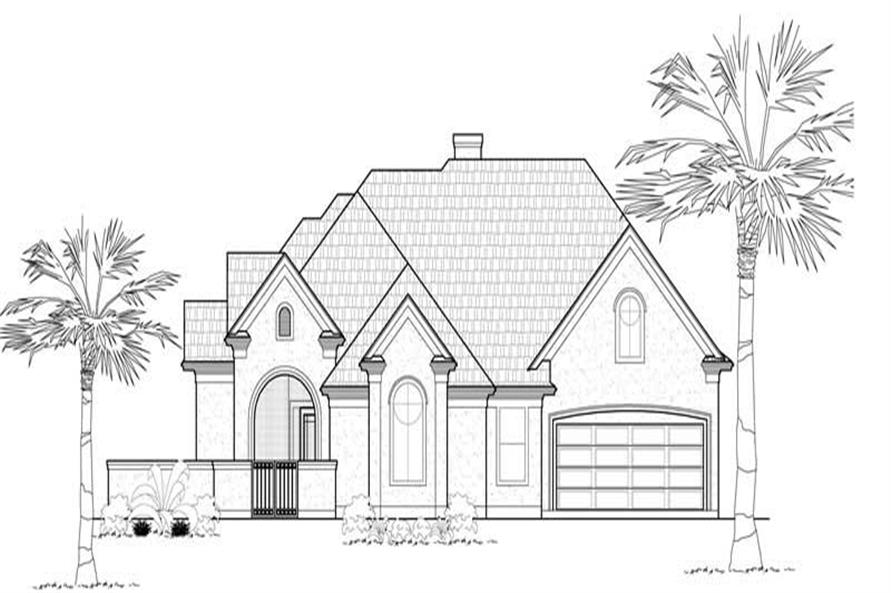 Main image for house plan # 18986