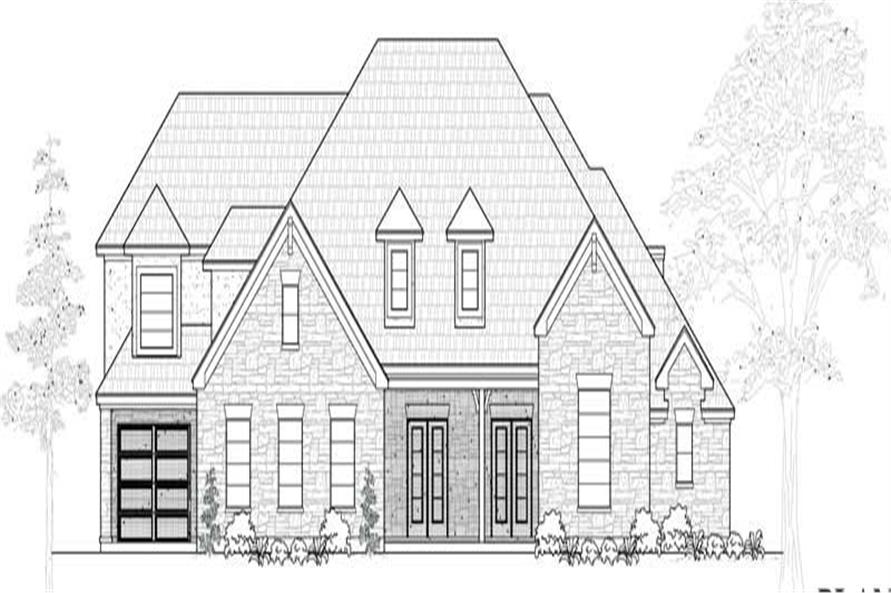 Main image for house plan # 19106