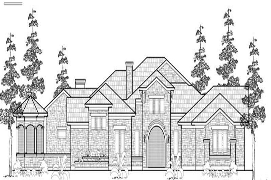Main image for house plan # 19112