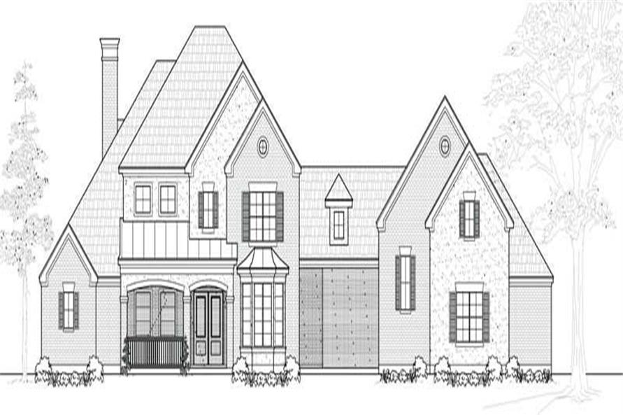 Main image for house plan # 19101