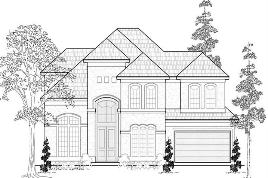Main image for house plan # 19107