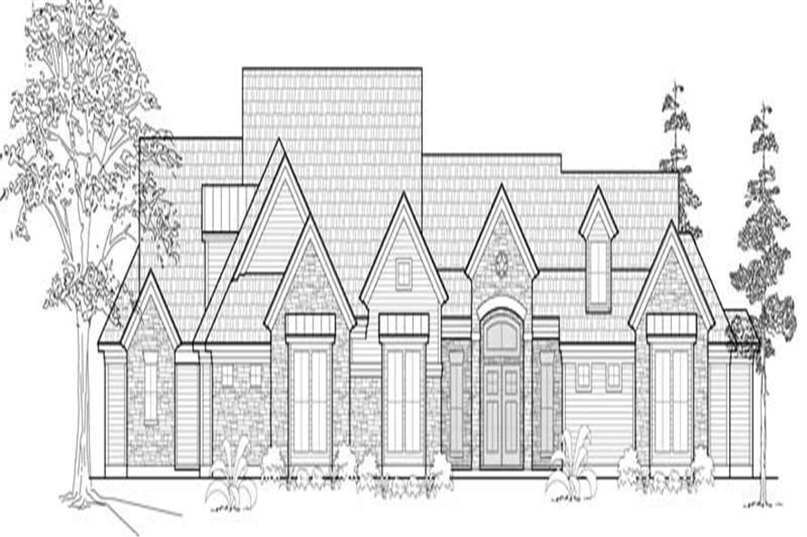 Main image for house plan # 19123