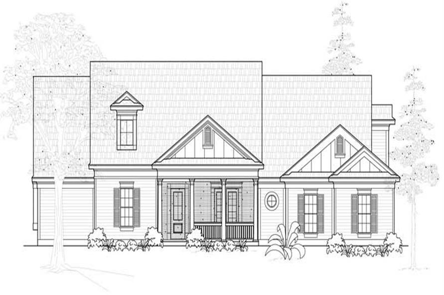 Main image for house plan # 18999