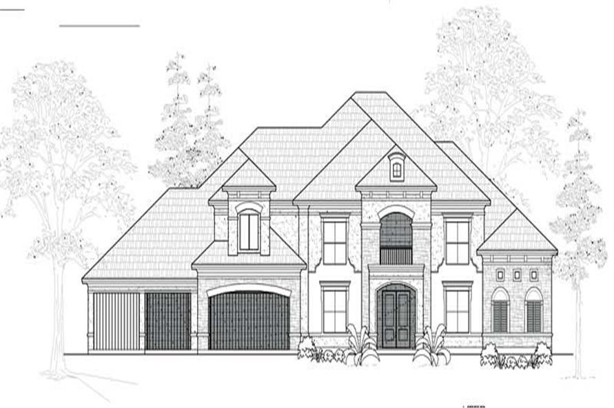 Main image for house plan # 19062