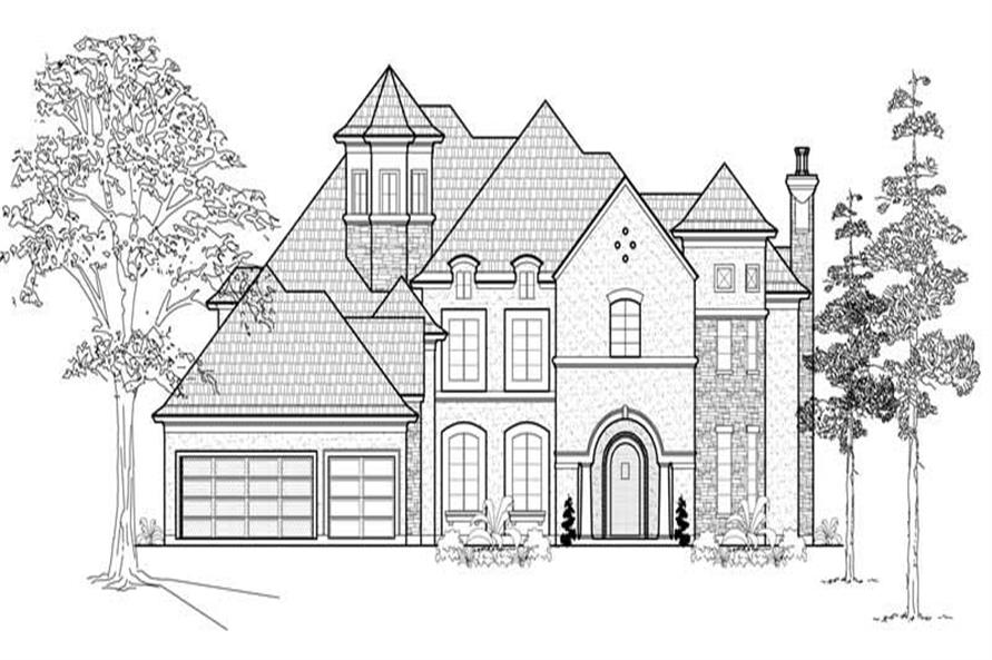 Main image for house plan # 19060