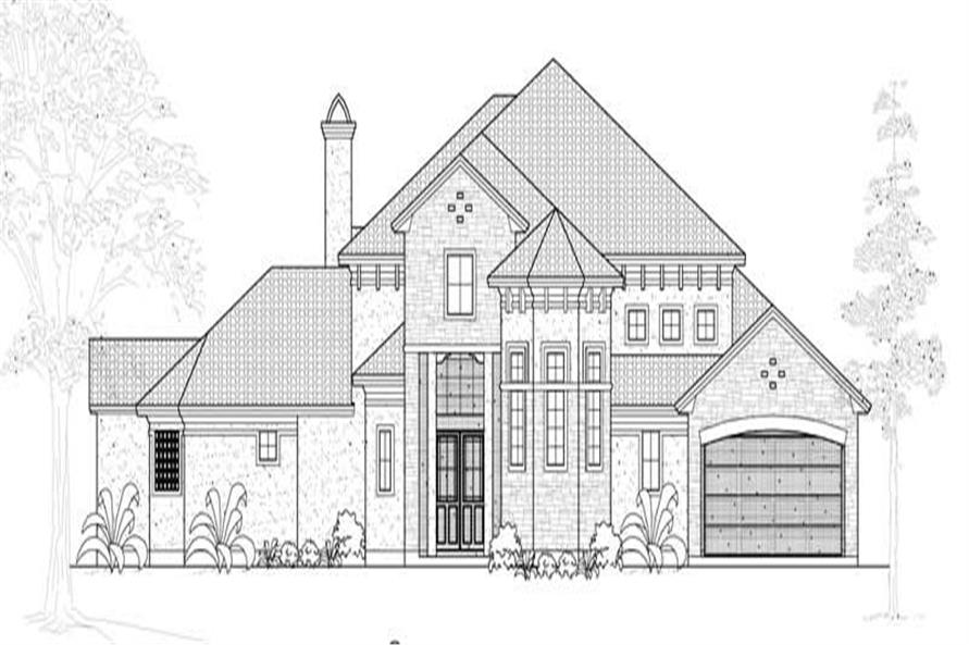 Main image for house plan # 19116