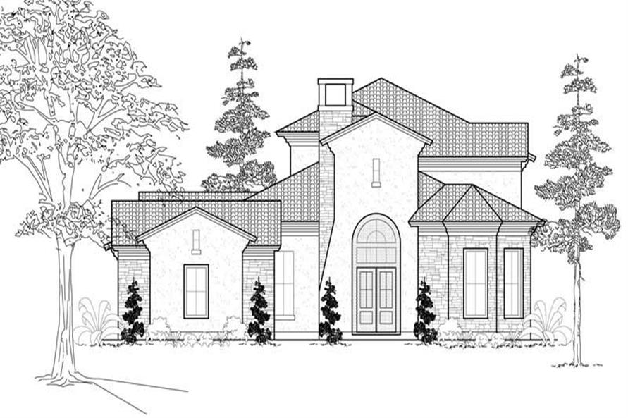 Main image for house plan # 19169